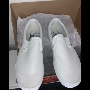 Classic Vans Slip On True White 5 Mens 7.5 Women's